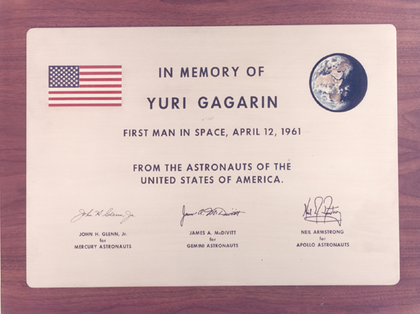 memory of yuri gagarin